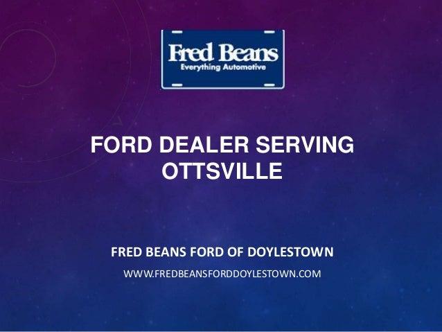 Ford Dealer Serving Ottsville
