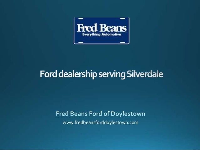 Ford dealership serving Silverdale