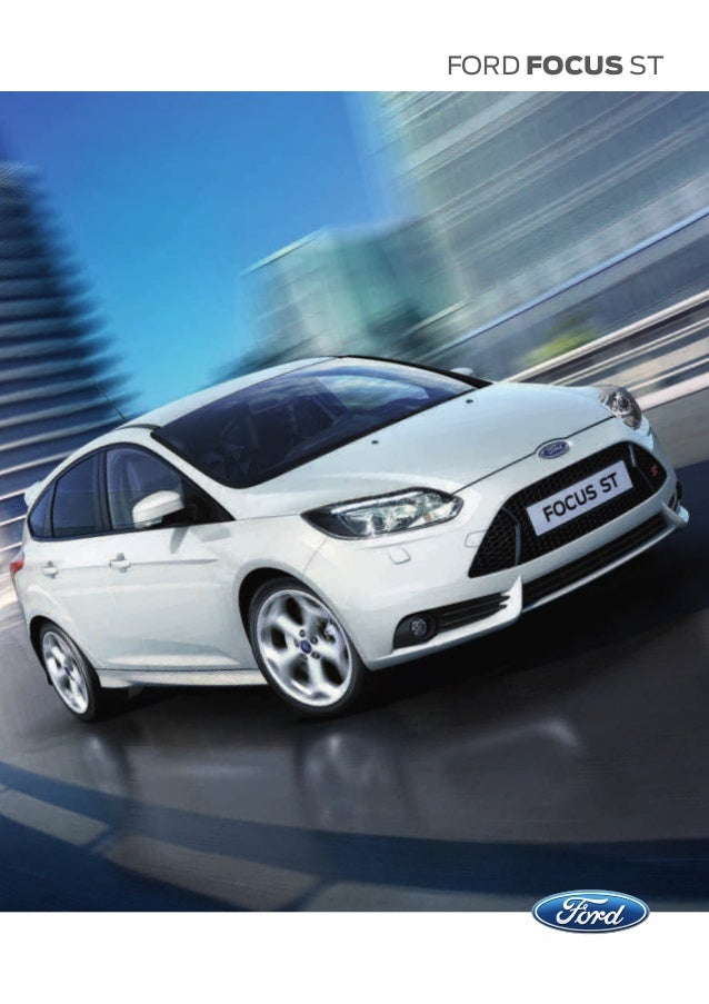 Ford focus st 2013 brochure autos weblog