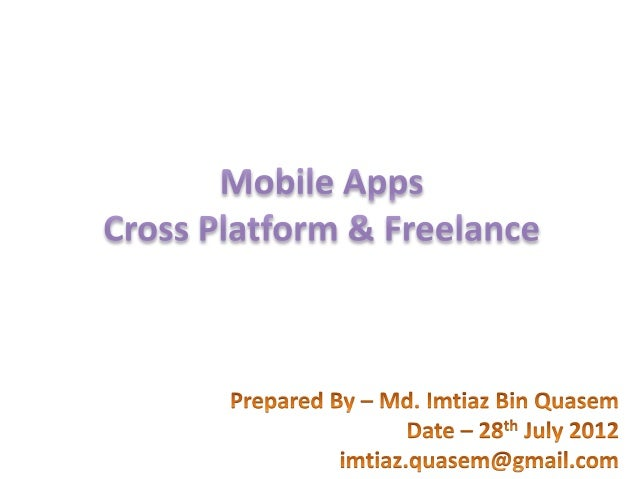 Mobile Apps business opportunity