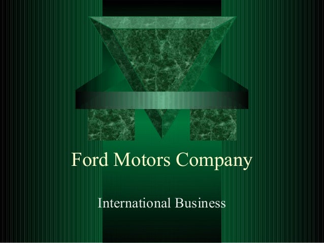 strategic analysis of ford motors company London, dec 23, 2015 /prnewswire/ -- executive analysis of the global operations of ford motor company: ford targets a 50% growth rate and 94 million unit sales by 2020 this research service provides a strategic overview of ford motor company and identifies and interprets the factors that.
