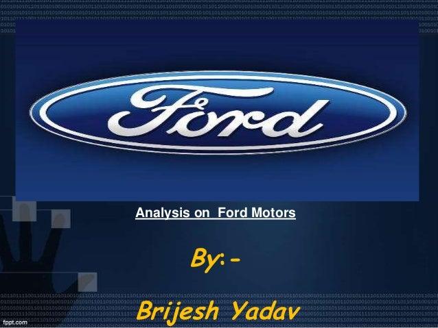 the ford motor company essay
