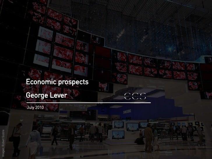 Economic Prospects, July 2010
