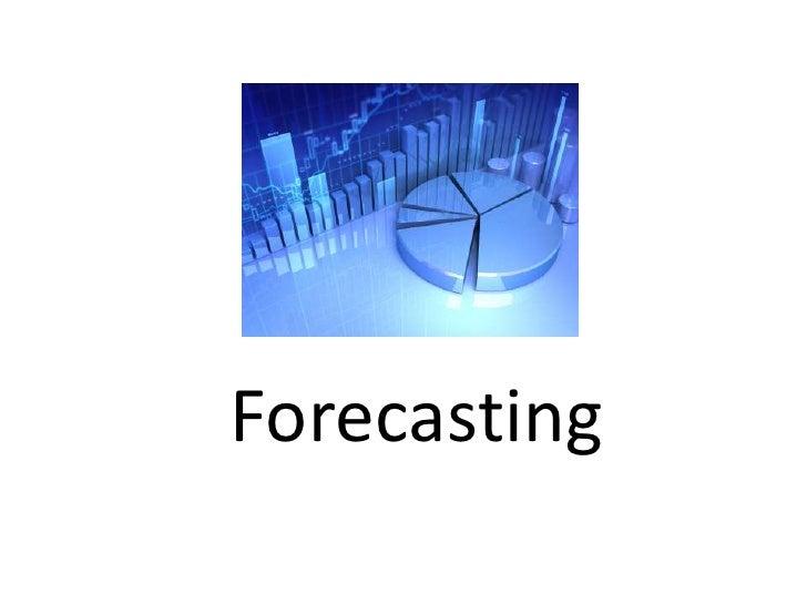 Forecasting<br />