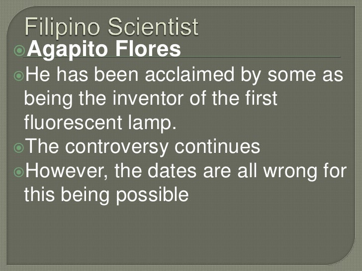 Foreign And Filipino Scientists