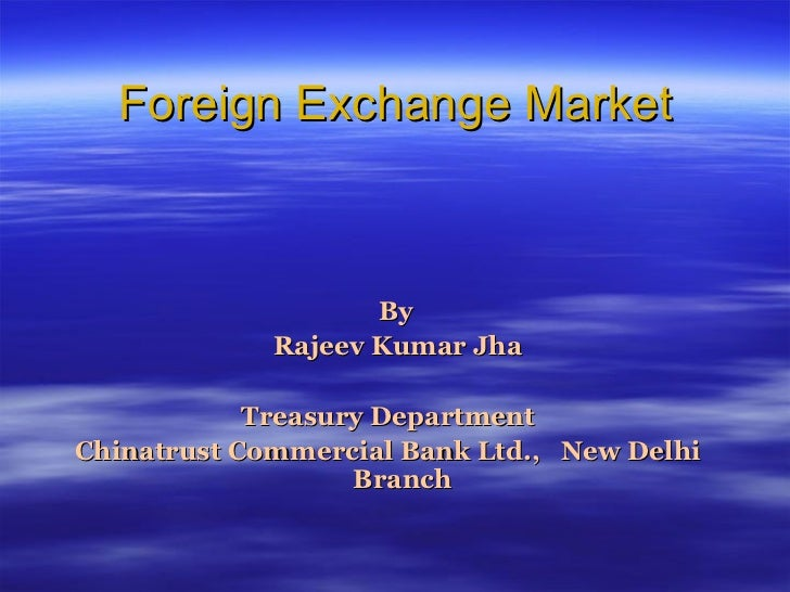 For Foreign market penetration