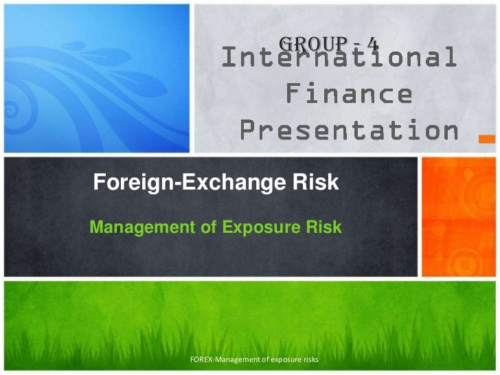 Forex hedging policy document