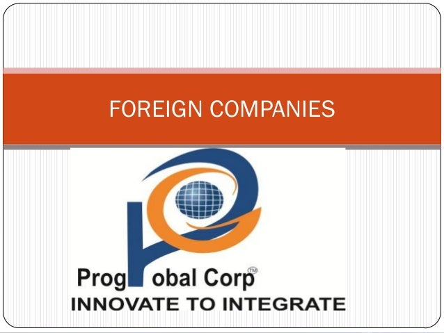 Foreign company Companies Act, 2013