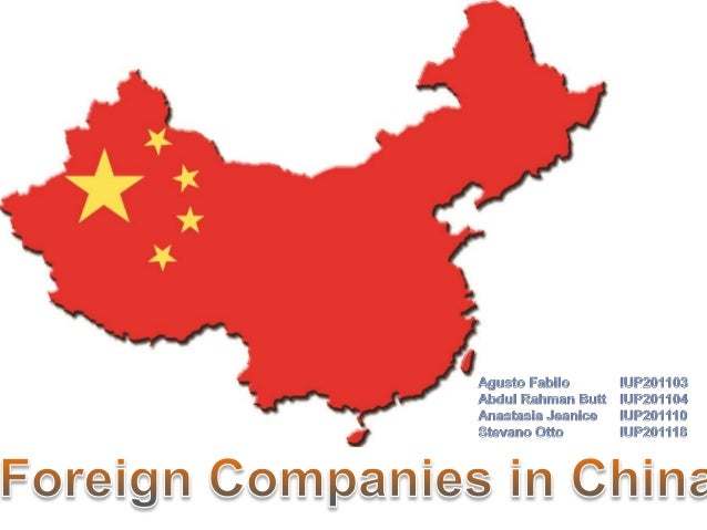 foreign company in china With foreign trading companies registered in china, foreign investors will enjoy a legitimate status to import and export goods, sign business contract under the protection of chinese law, have the legal right to employ staffs and buy social insurances especially for chinese employees who want to buy a property later in china.