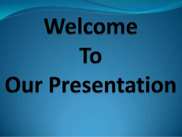 Our Presentation About