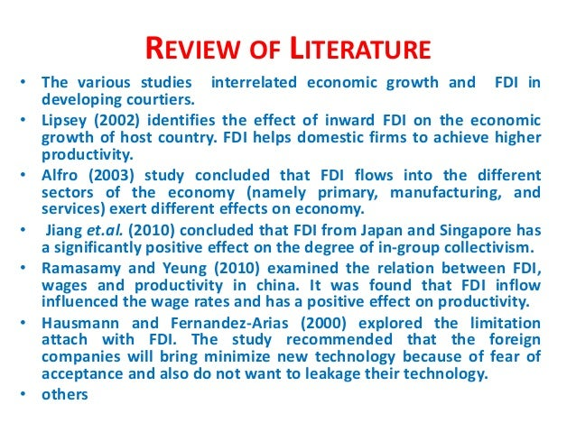 """essay on impact of fdi in india Free essay: """"the effects of fdi on the indian insurance industry effect of fdi on indian insurance and cultural barriers for mass media impact on."""