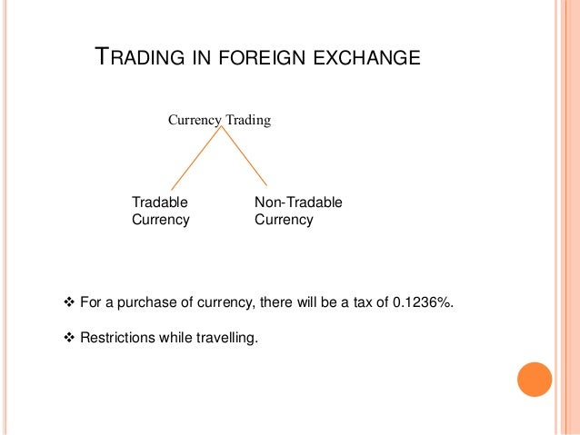 Taxation of forex trading income