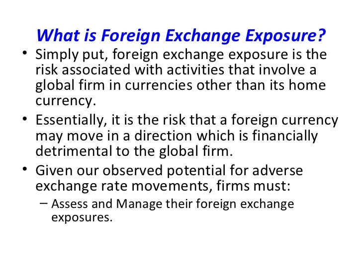 What is foreign currency exchange