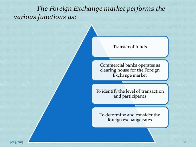 the features of the foreign exchange market