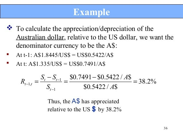 forex cross rate calculation