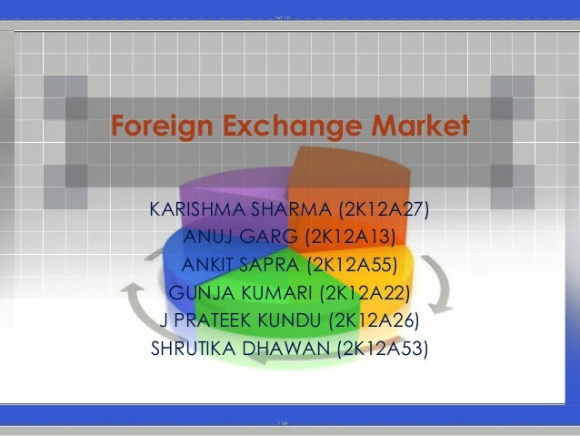 Forex market mechanism ppt