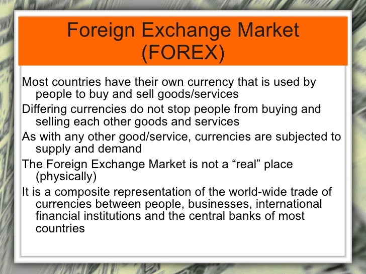 Foreign Exchange Market Primary1111