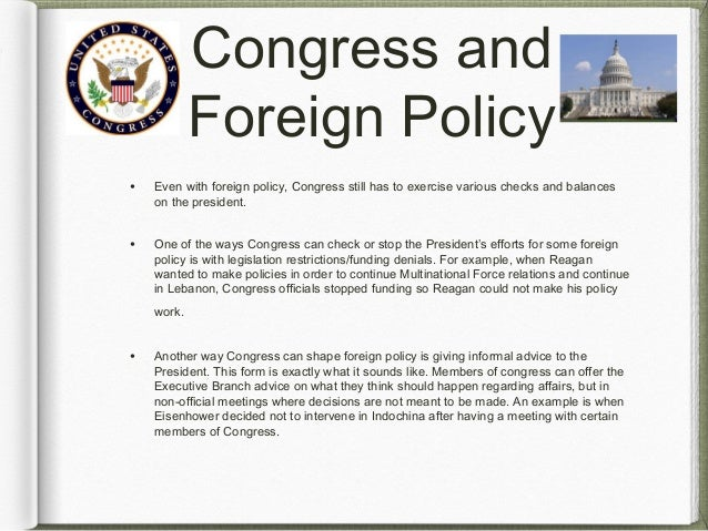 What are domestic and foreign affairs?