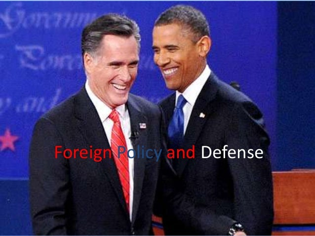 Foreign policy and defense