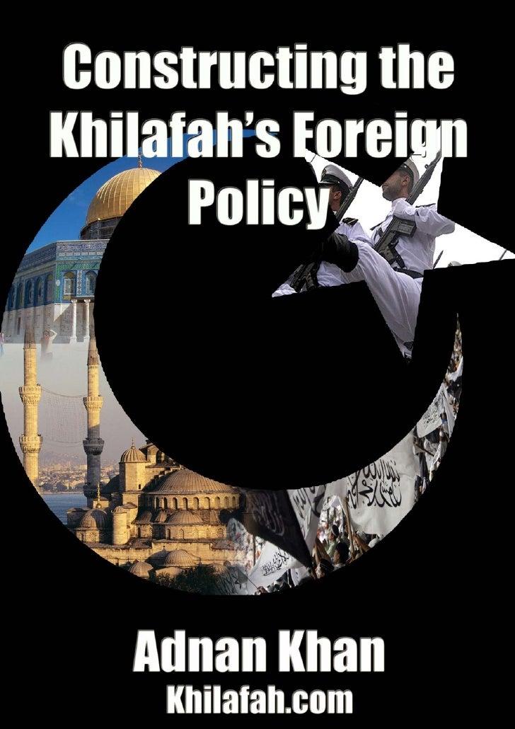 constructing the khilafah's forgien policy