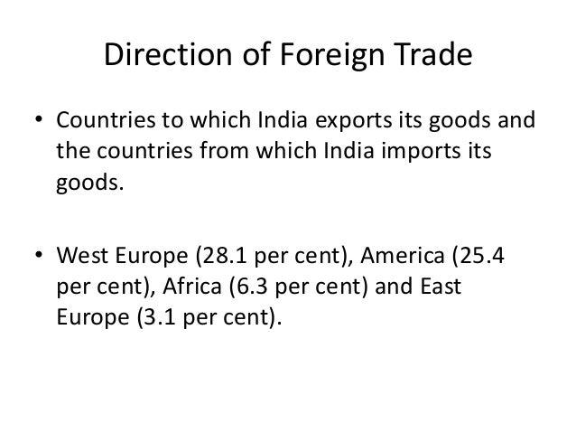 Essay foreign trade opportunities