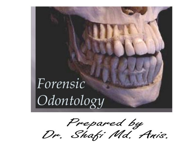 forensic odontology simplified