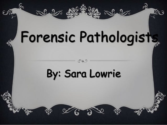 "forensic pathology research papers [meteor_slideshow slideshow=""arp1″] research on this assignment and write 5 pages based on the question: a conventional paper on forensic pathology, forensic."