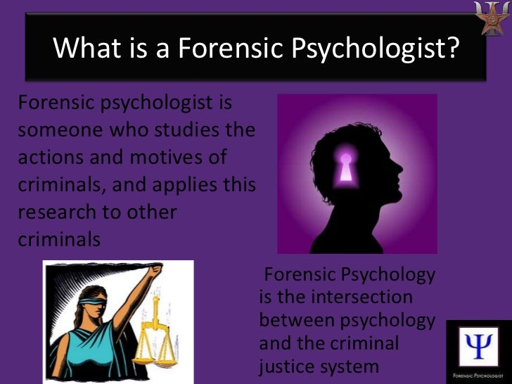 Forensic Psychology college subjects to major in