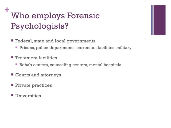role of forensic psychology in child custody cases A good forensic psychiatrist will also look to determine which parent better understands the physical and emotional developmental stages of the child(ren) this will be revealing to them of each parent's involvement with the child(ren) in the past.