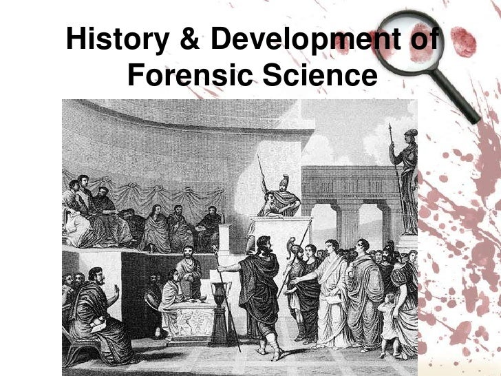 Forensic Science rim my service
