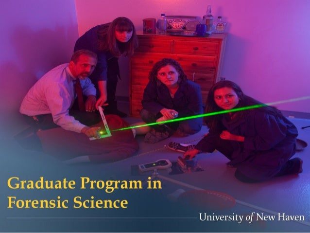 University of New Haven M.S. Forensic Science Webinar Overview