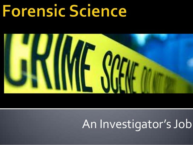 Forensic science paper topics