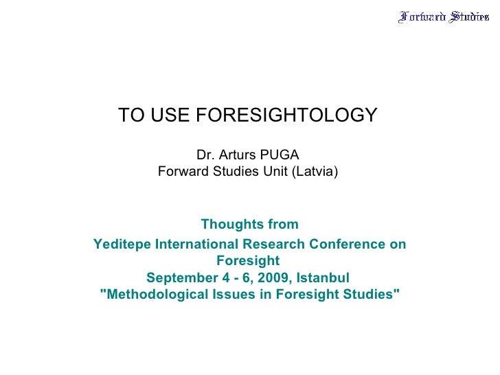 Foresightology