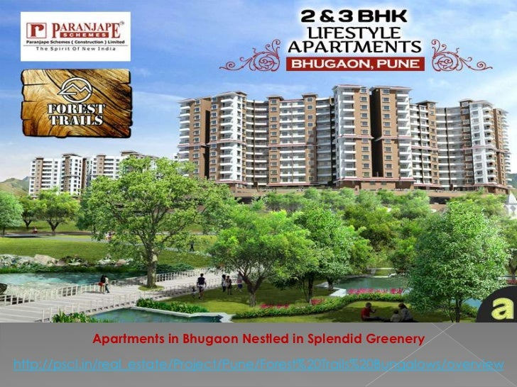 Apartments in Bhugaon Nestled in Splendid Greenery by Paranjape Schemes (Construction) Ltd