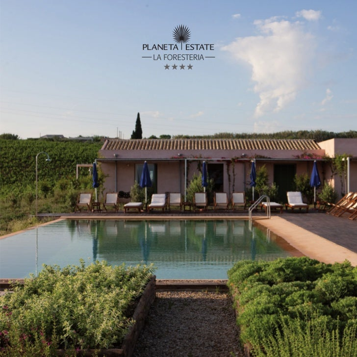 Il resort La Foresteria è la più genuina espressionedell'ospitalità della famiglia Planeta, ambasciatricedella Sicilia e d...