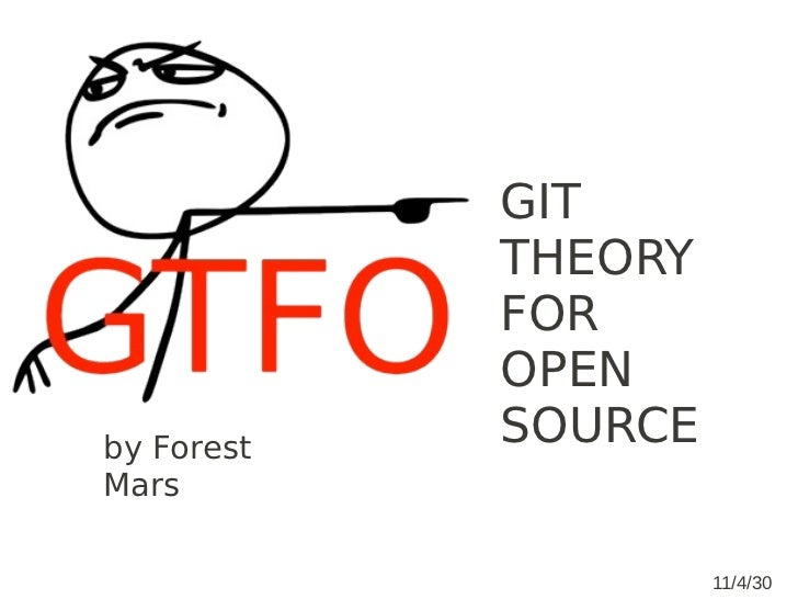 GTFO: Git Theory For OpenSource