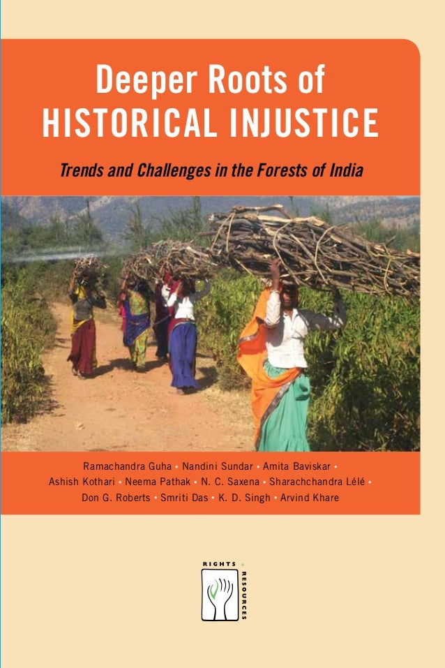 Forest rights historical injustice
