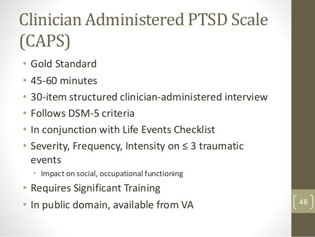 Rating criteria for ptsd driverlayer search engine