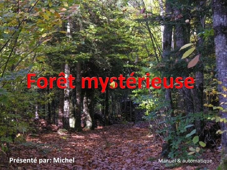 Présenté par: Michel Manuel & automatique