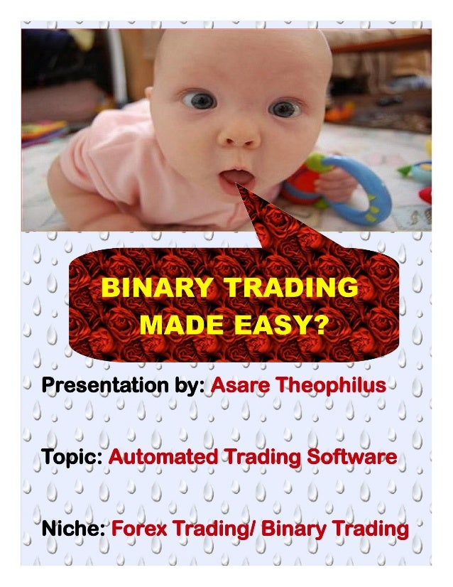 What is binary trading and how does it work