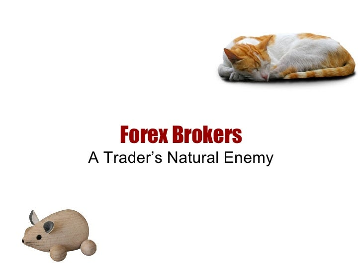Forex Brokers A Trader's Natural Enemy
