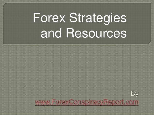 Forex Strategies and Resources