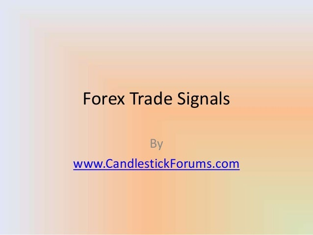 Forex Trade Signals