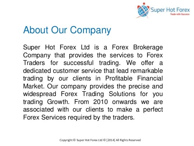 Forex brokerage companies