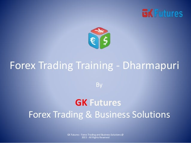 Forex trader training