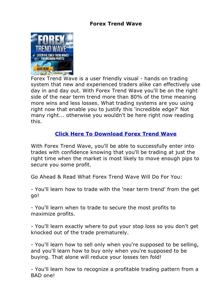 Forex trend rush review