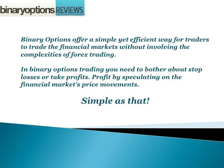 Panduan trading binary options