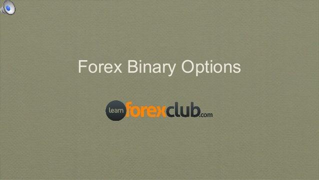 Forex Binary Options