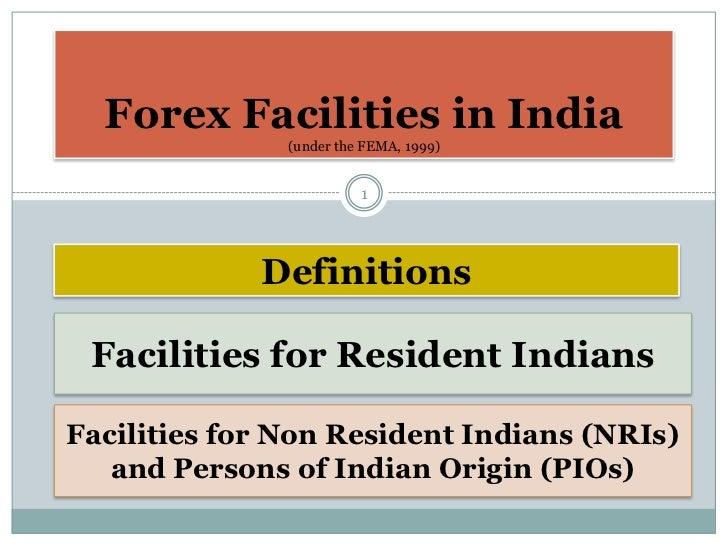 Forex facilities 8122011