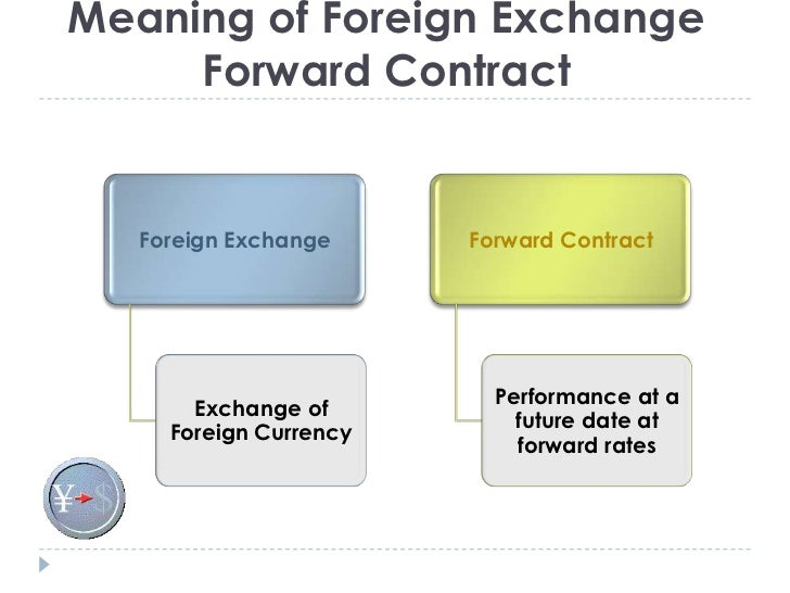 All About Accounting For Forward Foreign Exchange Contracts Hukr